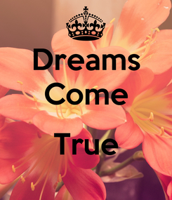 Poster: Dreams Come  True