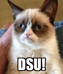 Poster:  DSU!