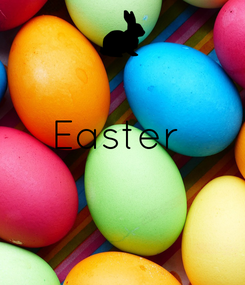 Poster:  Easter