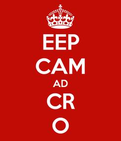 Poster: EEP CAM AD CR O