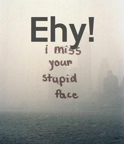 Poster: Ehy!