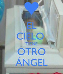 Poster: EL CIELO  TIENE OTRO ÁNGEL
