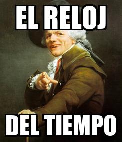 Poster: EL RELOJ DEL TIEMPO