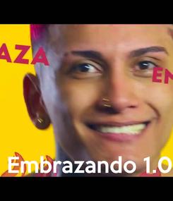 Poster:      Embrazando 1.0