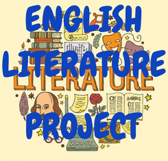 Poster: ENGLISH LITERATURE  PROJECT