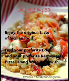 Poster: Enjoy the original taste