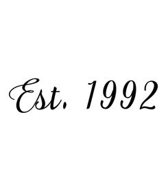 Poster: Est. 1992