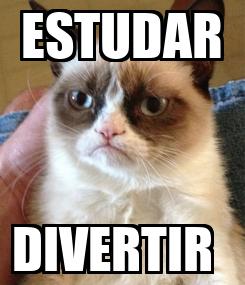 Poster: ESTUDAR DIVERTIR