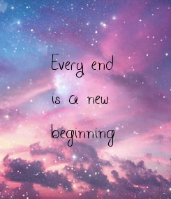 Poster:     Every end