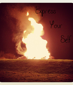 Poster:  Express       Your         Self