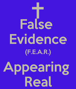 Poster: False  Evidence (F.E.A.R.) Appearing  Real