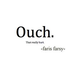 Poster:                               -faris farsy-