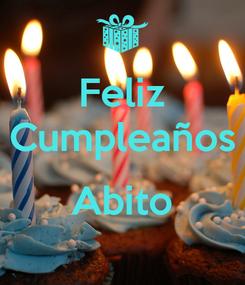 Poster: Feliz Cumpleaños  Abito