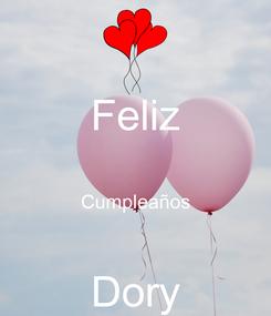Poster: Feliz  Cumpleaños  Dory