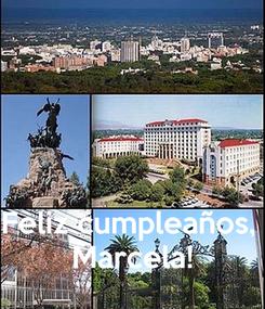 Poster:    Feliz cumpleaños,  Marcela!