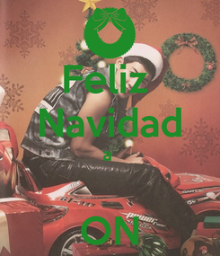 Poster: Feliz  Navidad a   ON