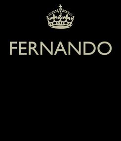 Poster: FERNANDO