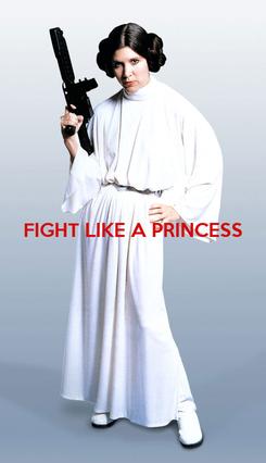 Poster: FIGHT LIKE A PRINCESS
