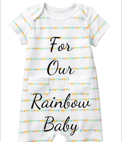 Poster: For Our  Rainbow Baby