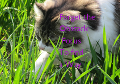 Poster: Forget the 