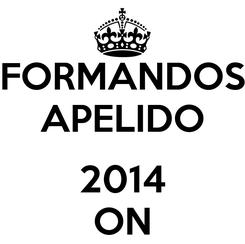 Poster: FORMANDOS APELIDO  2014 ON
