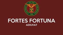 Poster:  FORTES FORTUNA ADIUVAT