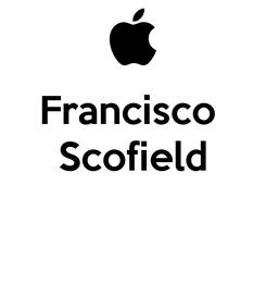 Poster: Francisco  Scofield