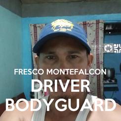 Poster:   FRESCO MONTEFALCON DRIVER BODYGUARD