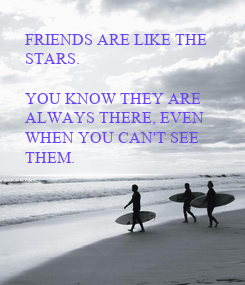 Poster: FRIENDS ARE LIKE THE 