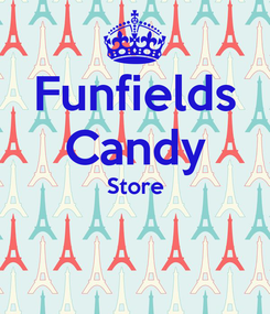 Poster: Funfields Candy Store