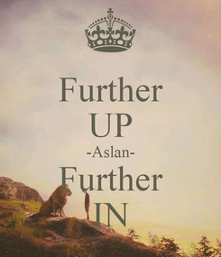 Poster: Further UP -Aslan- Further IN