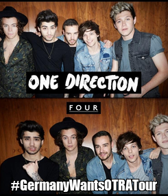 Poster:  #GermanyWantsOTRATour