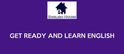 Poster:   GET READY AND LEARN ENGLISH
