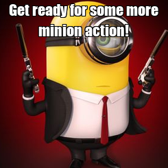 Poster: Get ready for some more minion action!