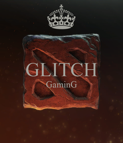Poster:  GLITCH GaminG