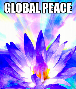 Poster: GLOBAL PEACE