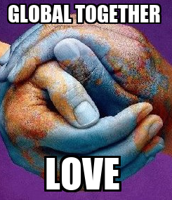 Poster: GLOBAL TOGETHER  LOVE