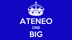 Poster: GO ATENEO ONE BIG FIGHT