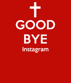 Poster: GOOD BYE Instagram