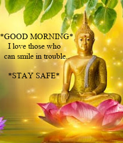 Poster: *GOOD MORNING*
