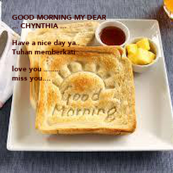 Poster: GOOD MORNING MY DEAR 