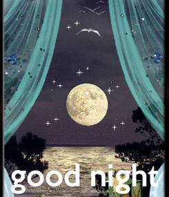 Poster:     good night