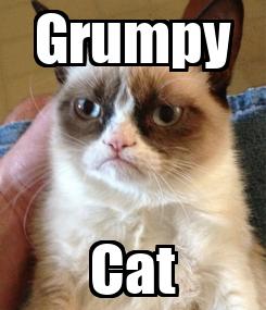 Poster: Grumpy Cat