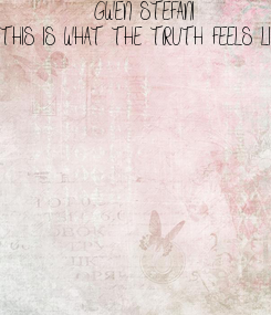 Poster: GWEN STEFANI
