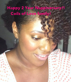 Poster:    Happy 2 Year Nappiversary!!