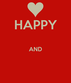 Poster: HAPPY  AND