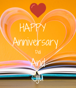 Poster: HAPPY   Anniversary  Didi And Jiju