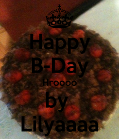 Poster: Happy B-Day Hroooo by  Lilyaaaa