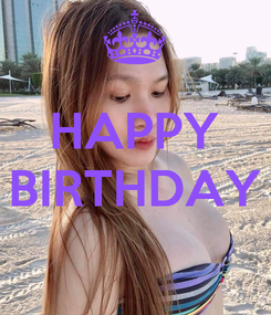 Poster:  HAPPY BIRTHDAY