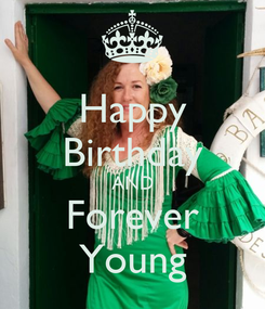 Poster: Happy Birthday AND Forever Young